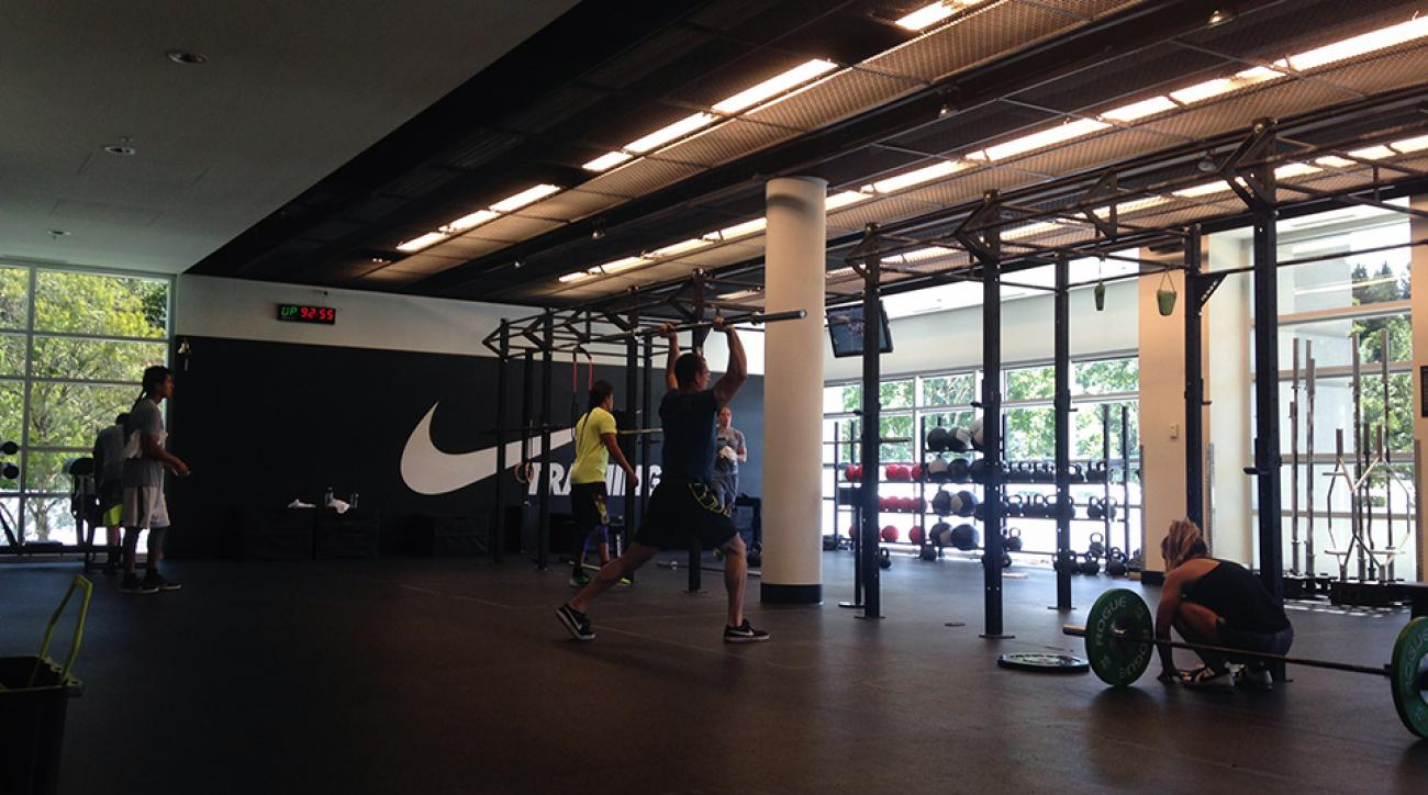 sweat mecca  nike world headquarters offers fitness feast
