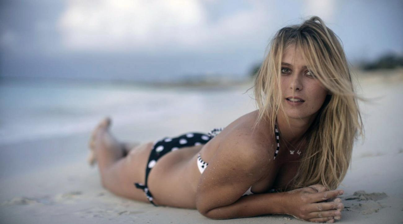 Maria Sharapova, SI Swimsuit 2006