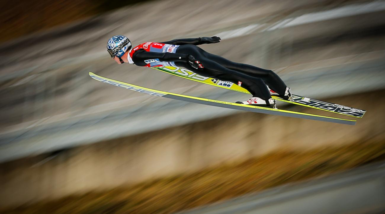 Thomas Morgenstern suffered skull and lung injuries after a training crash on Jan. 10.