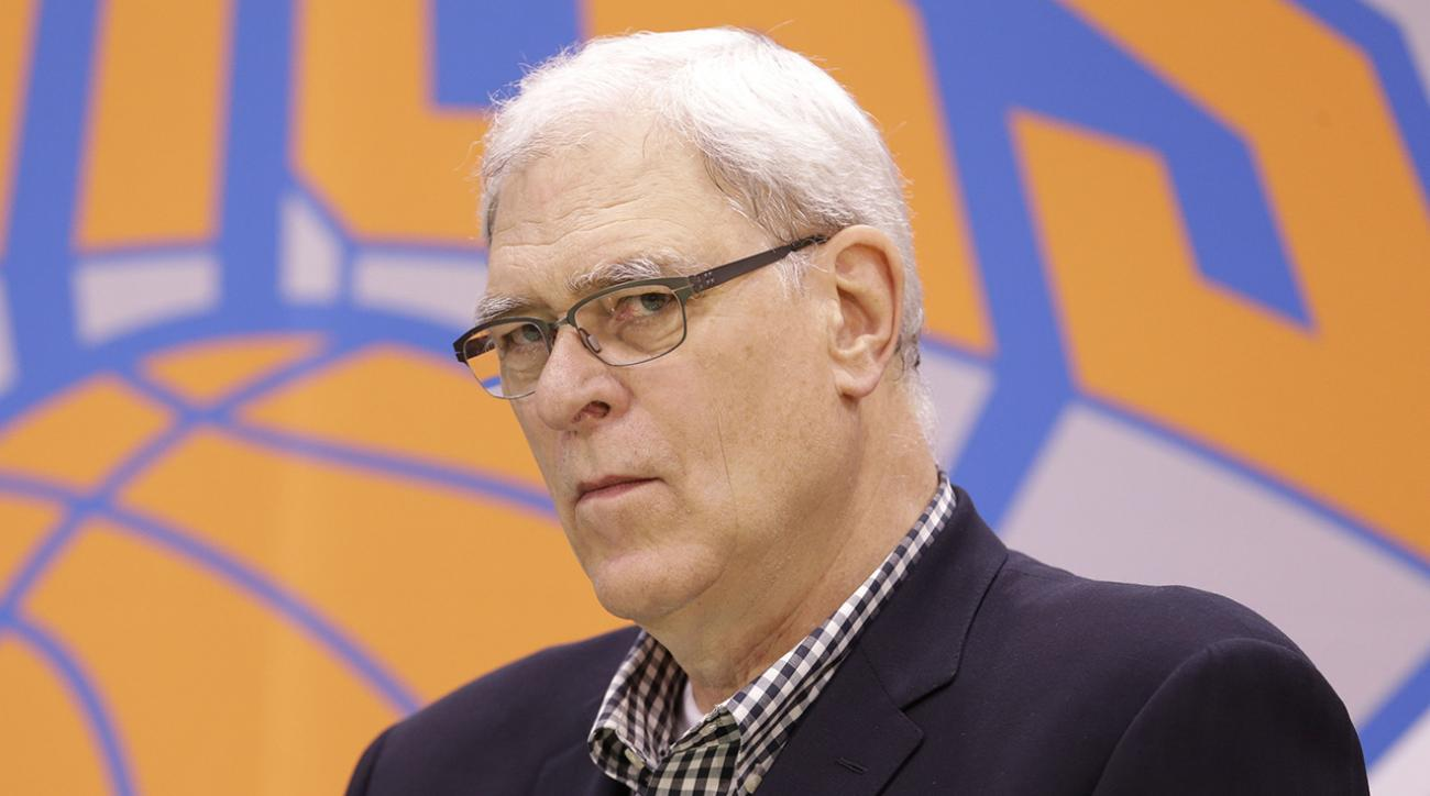 Phil Jackson fires back at Adam Silver for his comments on Triangle