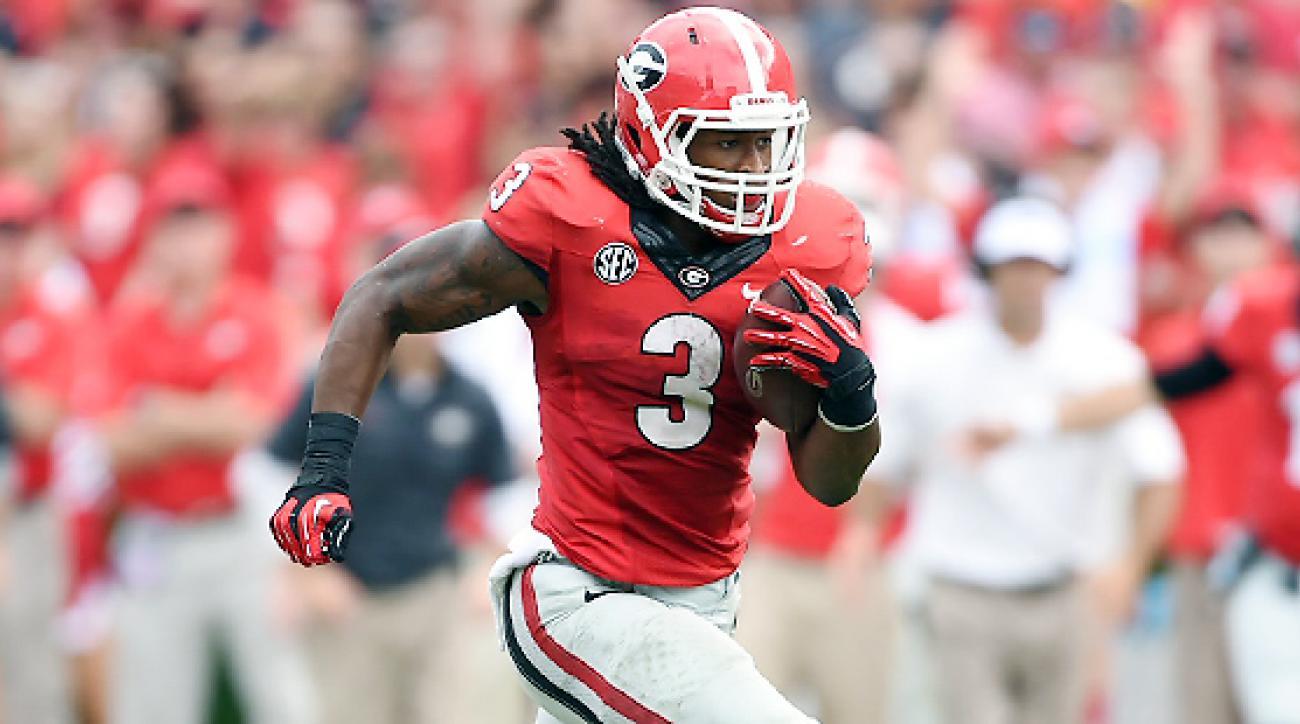 size 40 512e3 755e7 NCAA: Georgia Bulldogs' Todd Gurley eliglbe to return Nov ...