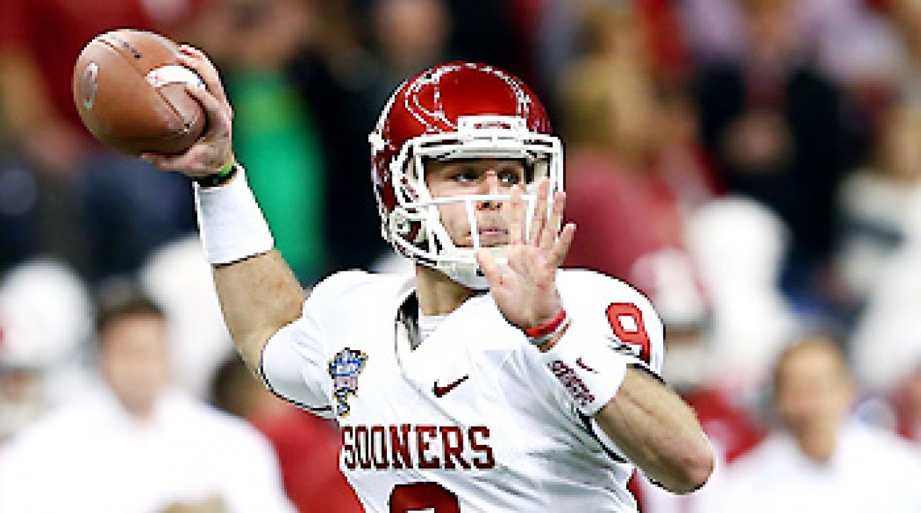 Trevor Knight threw for 348 yards and four TDs in Oklahoma's Sugar Bowl win over Alabama.