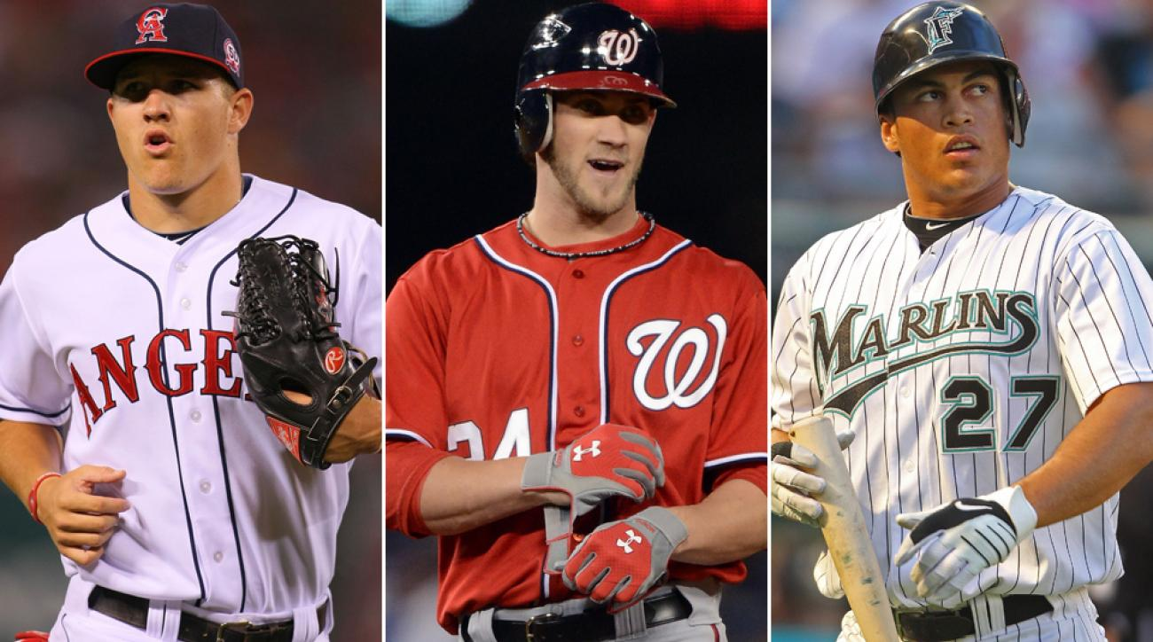 Mike Trout, Bryce Harper and Giancarlo Stanton all had up-and-down starts to their MLB careers despite top prospect pedigrees.
