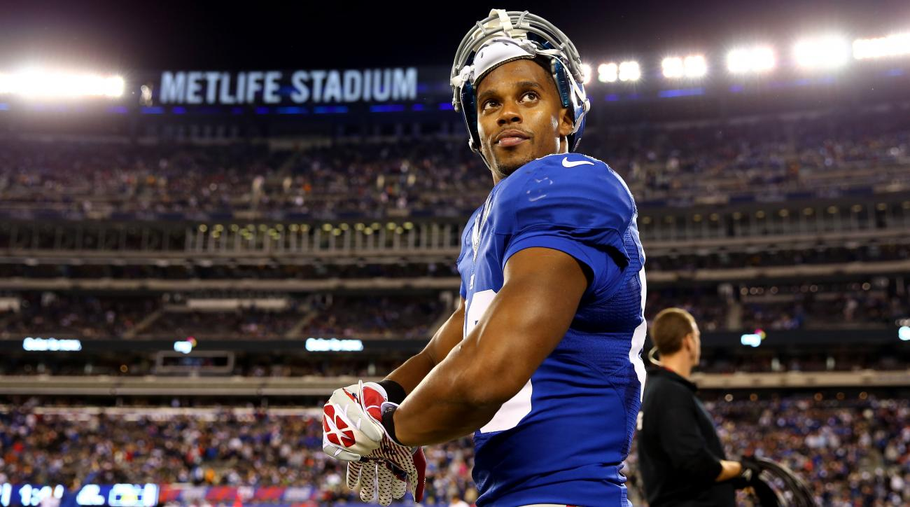 Victor Cruz eyes 100 catches in Giants' new offense