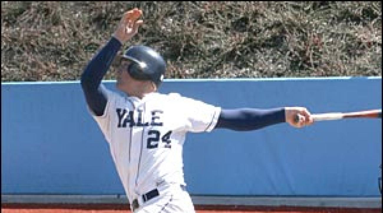 Yale Catcher Slugs his Way to Pros | SI com