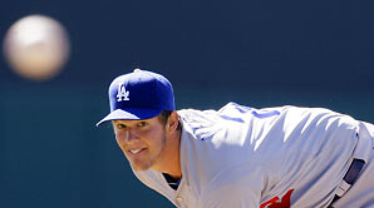 Dodgers' Wood hopes to emulate Kershaw vs. D-backs