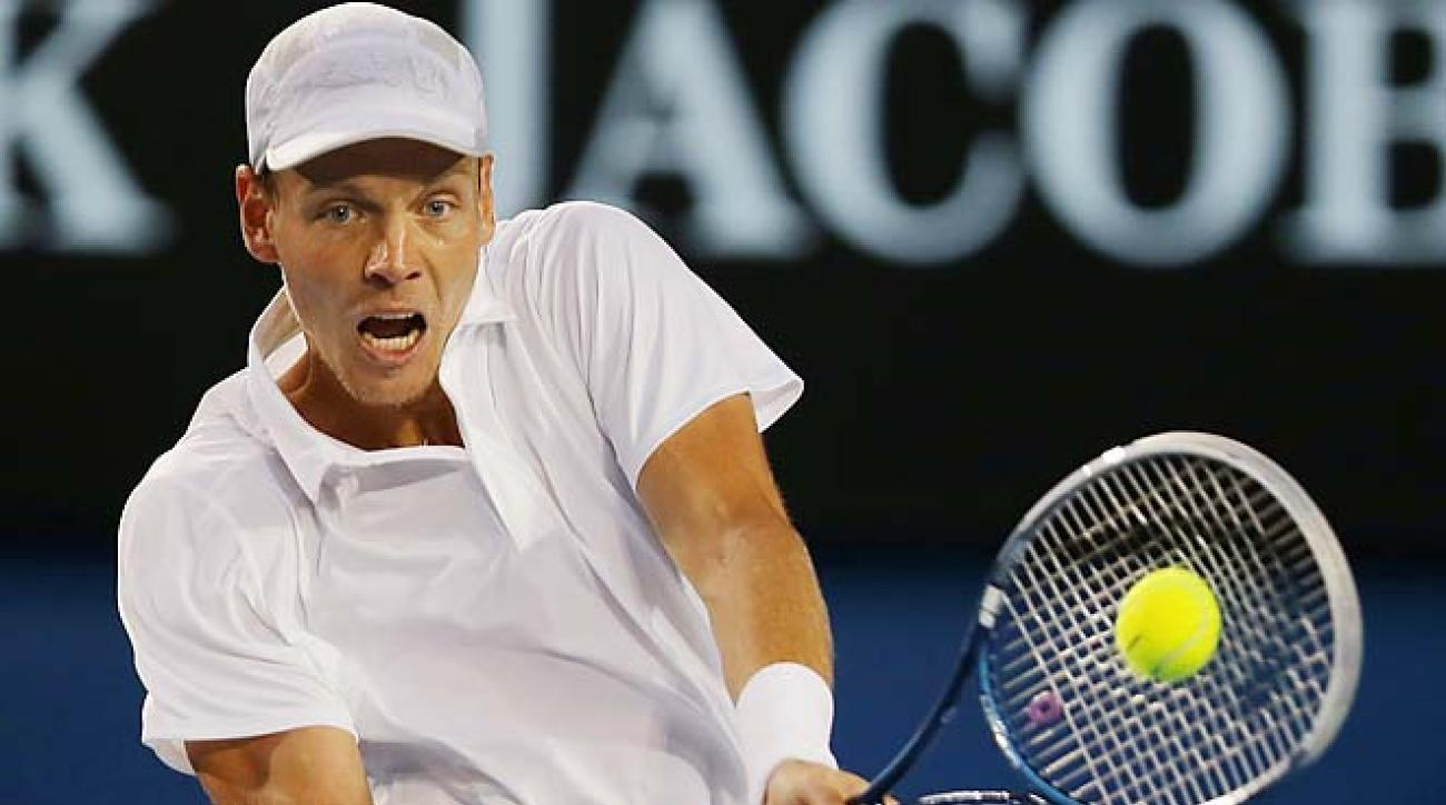Tomas Berdych bowed out in the quarterfinals of the Australian Open.