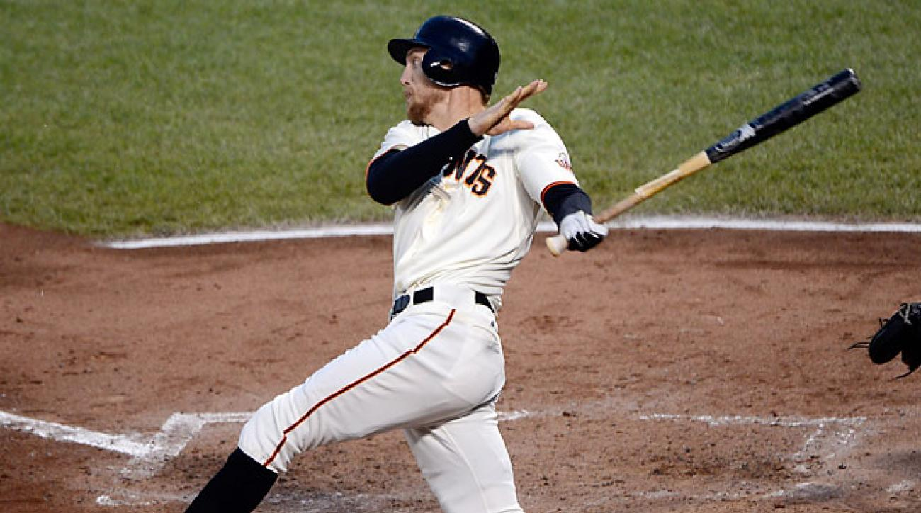 Hunter Pence emerged from obscurity in 2007 to gain a major-league job with a big spring training.