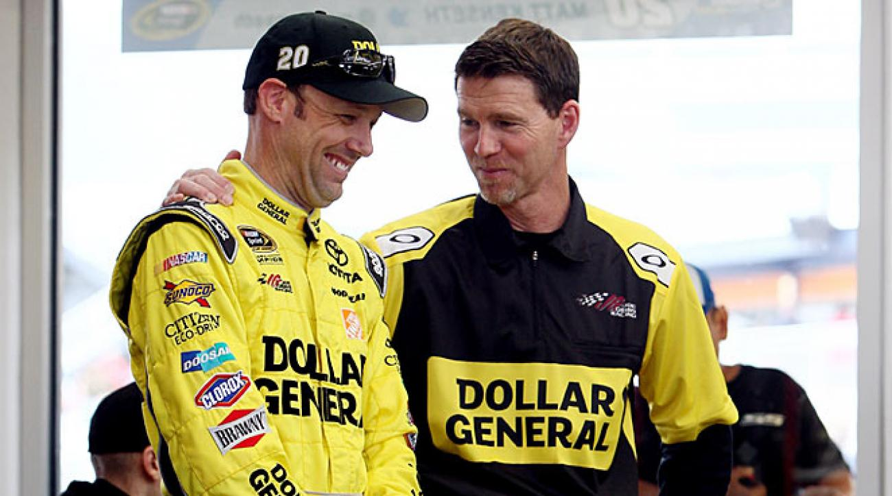 """Matt Kenseth went on off-season """"dates"""" with new crew chief Jason Ratcliff to get to know each other."""