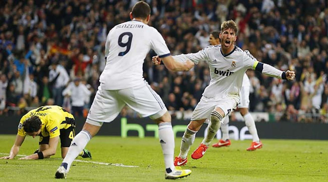 Sergio Ramos and Real Madrid nearly pulled off a stunner, falling one goal short.