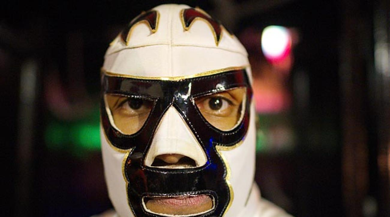 Lucha VaVoom held its Cinco de Mayan show at the Mayan Theatre in downtown L.A. earlier this week. With its mix of Mexican masked wrestling, burlesque and comedy, it was a sight to behold.