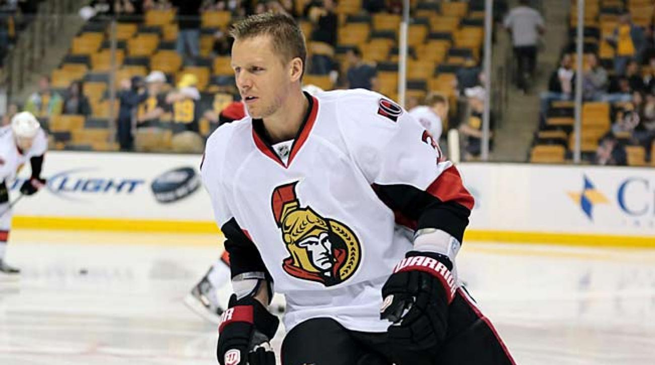 Stay-at-home blueliner Marc Methot is a key mainstay of the Ottawa Senators.