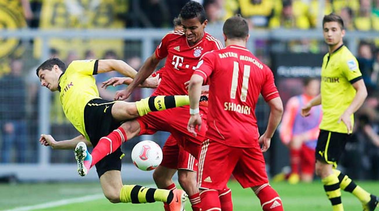 Borussia Dortmund has lost to favored Bayern Munich just twice in their last nine matches.
