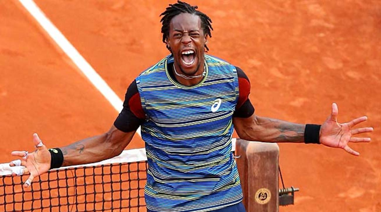 Gael Monfils will face Latvian Ernests Gulbis in the second round at Roland Garros.