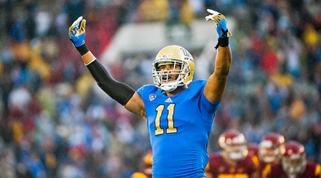 After moving to linebacker, UCLA's Anthony Barr racked up 13.5 sacks and 21.5 tackles for loss in 2012.