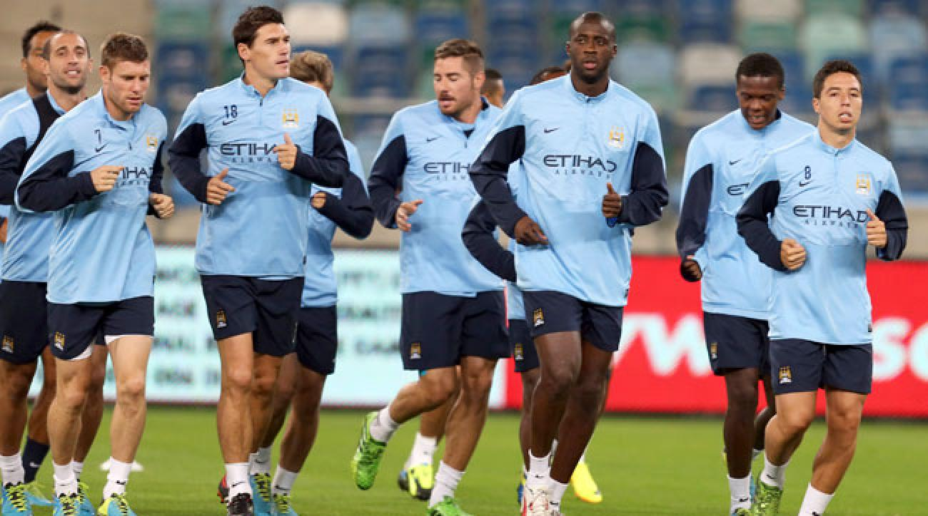 best sneakers ded99 52757 Manchester City loses both games on South African tour   SI.com