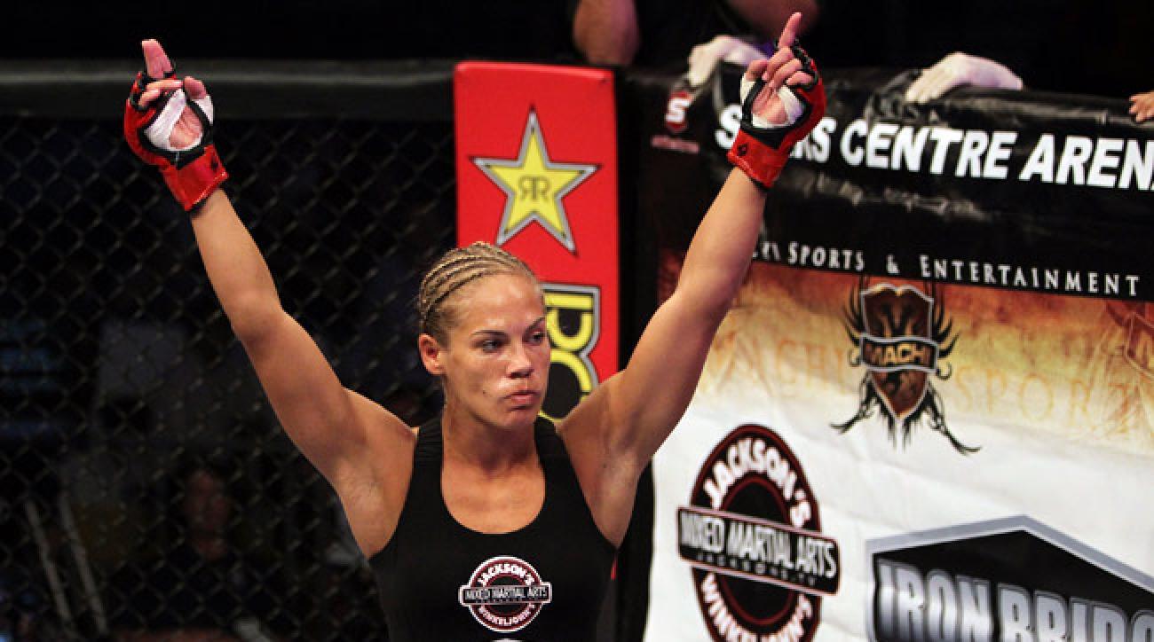 Julie Kedzie will make her UFC debut on Saturday against Germaine de Randamie.