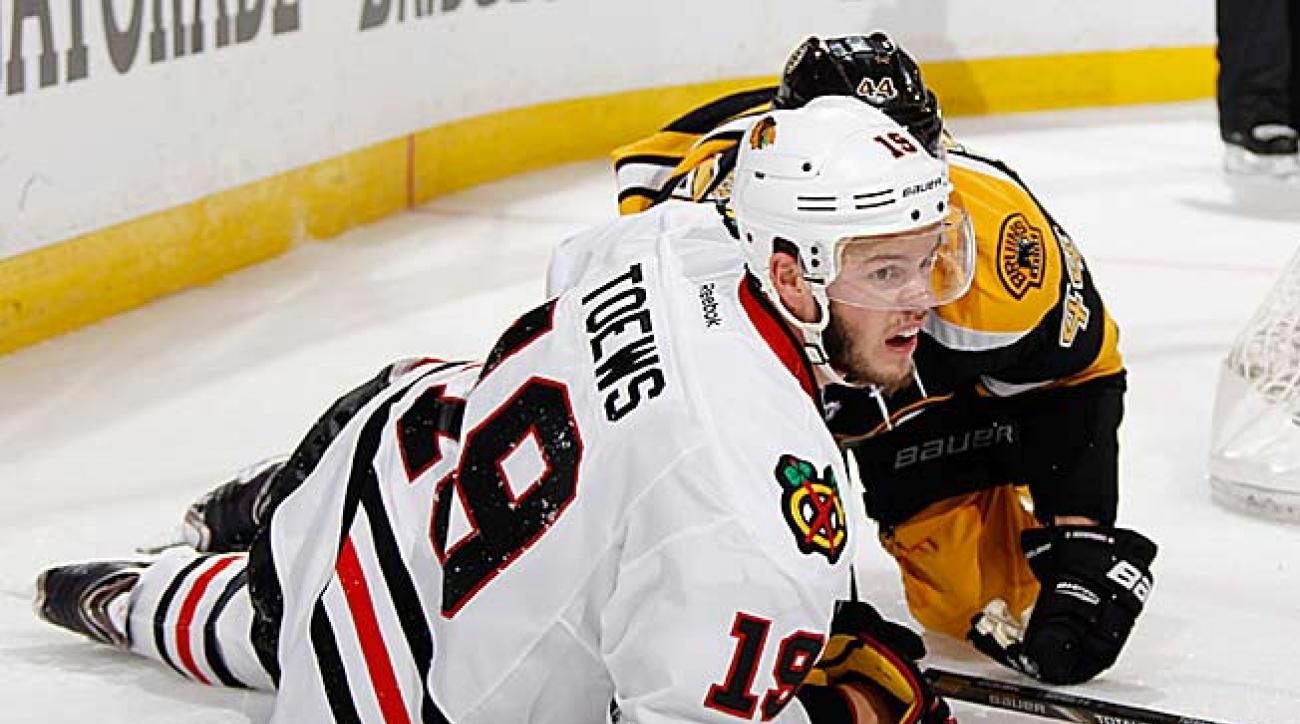 Jonathan Toews knows from bitter experience how hard it is to repeat as Stanley Cup champions.