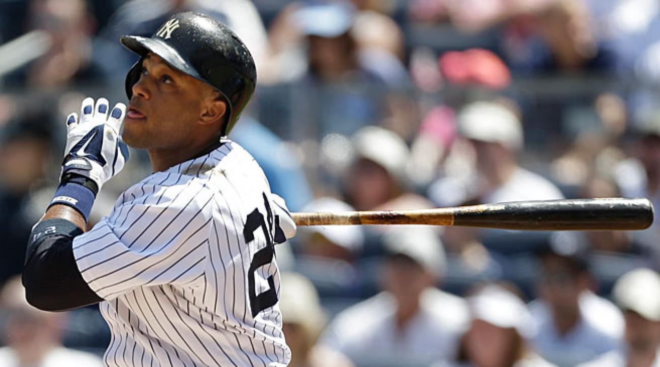Robinson Cano leads the Yankees in virtually every offensive category, including batting average (.291), home runs (22) and RBIs (73).