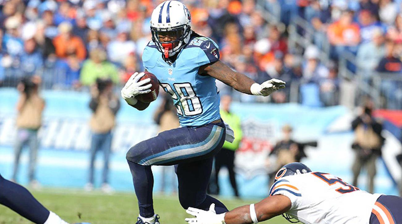 With the Titans' difficult schedule to start, Chris Johnson's owners are in for another tough season.