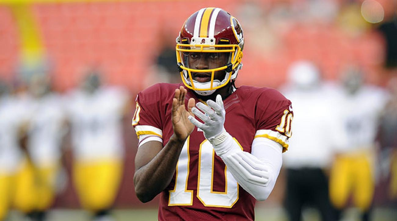 The Redskins' Robert Griffin III is healthy and ready to take his place among elite fantasy quarterbacks.