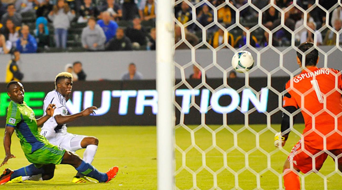 Though they were without Landon Donovan and Clint Dempsey, the Galaxy and Sounders played a fast-paced, close game.