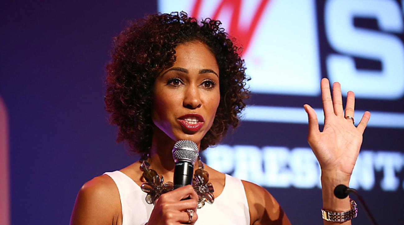 Sage Steele will travel each week from Connecticut to L.A. to host two editions of NBA Countdown.
