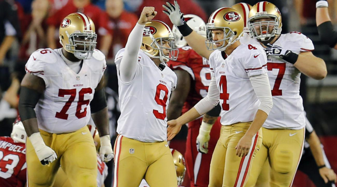 For the wild card game, the 49ers will head to Green Bay to face the Packers, who Harbaugh is 3-0 against.
