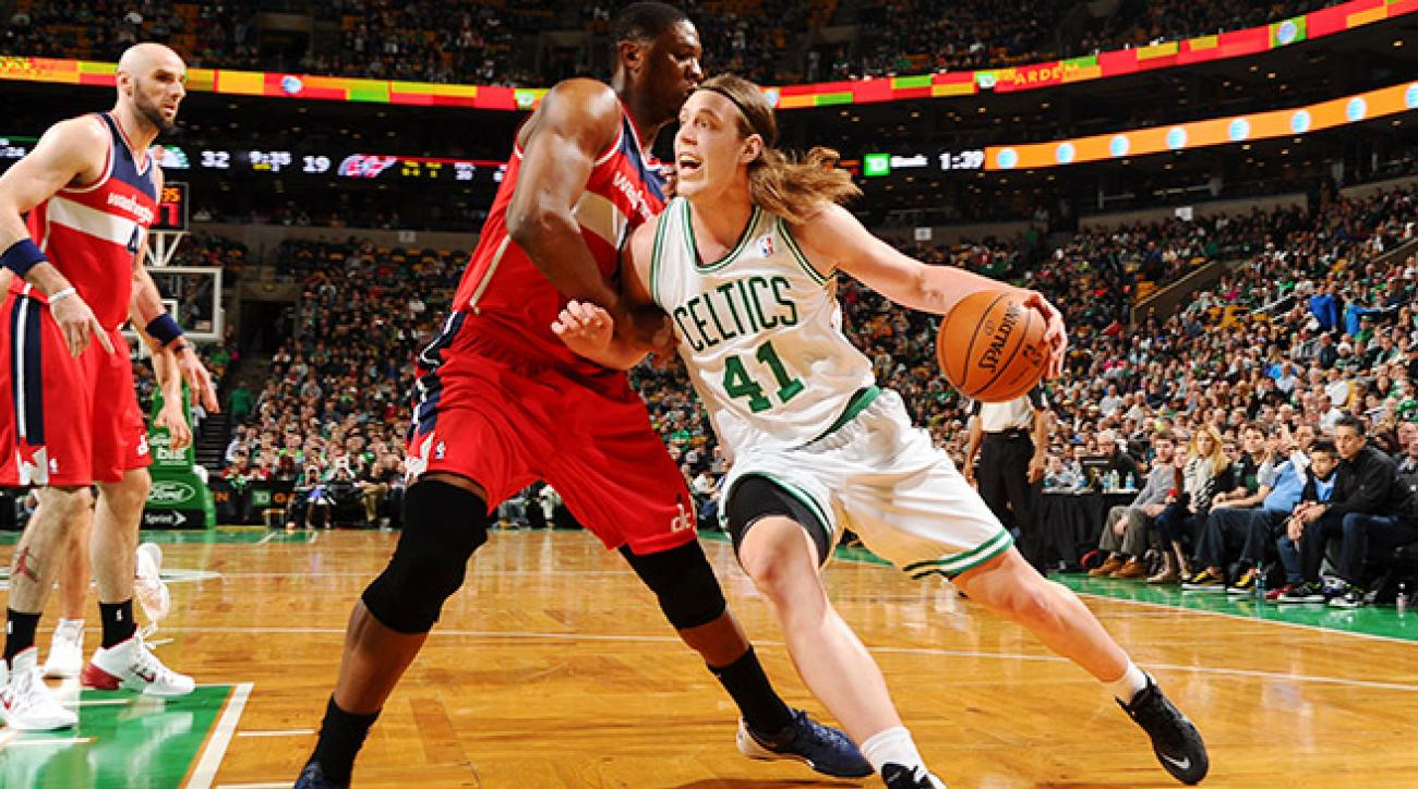 Kelly Olynyk is tied for seventh among rookies in points and ranks second in rebounding.