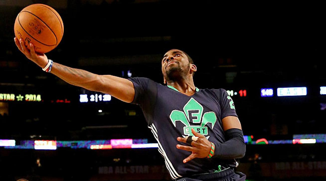 Kyrie Irving rallied the East to stop the conference's three-game losing skid in the All-Star Game.