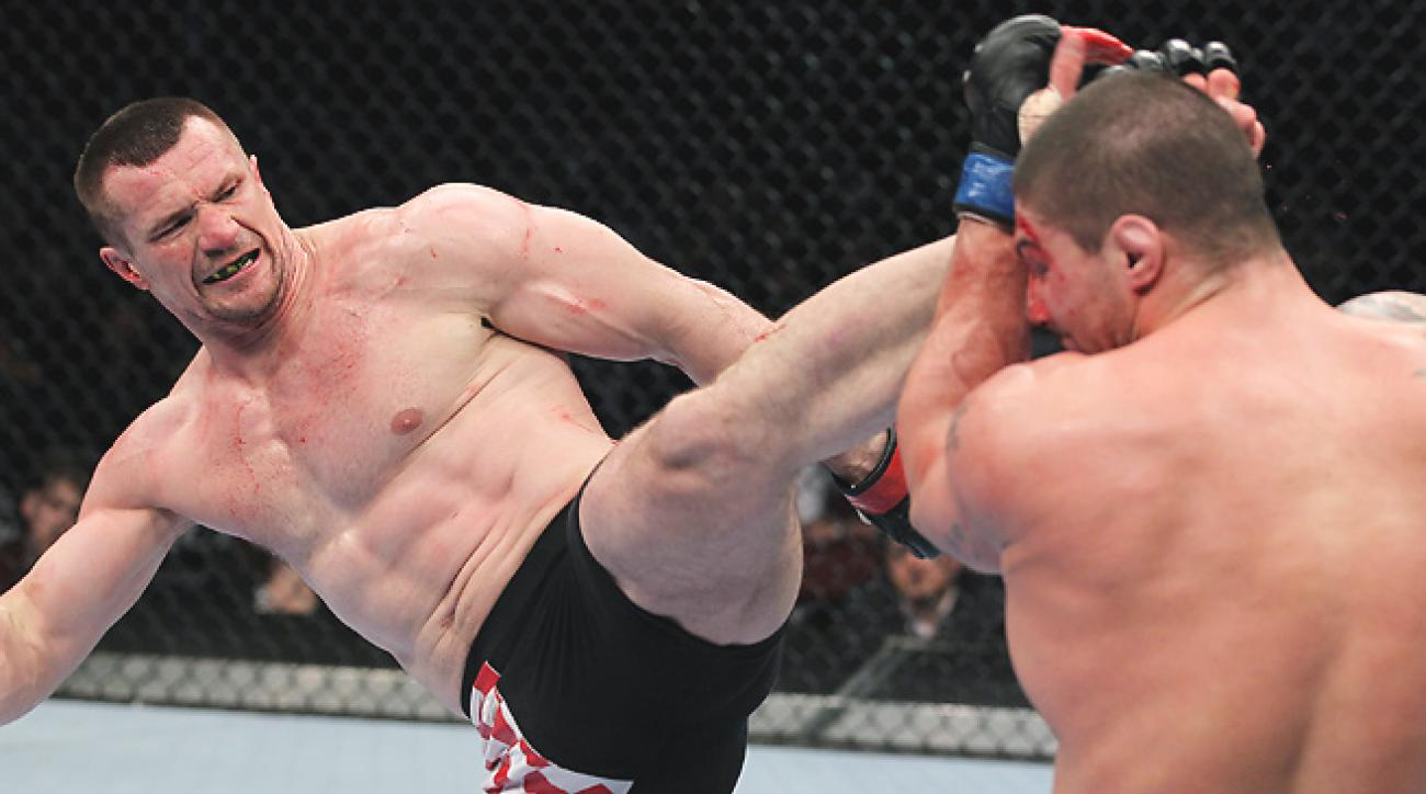 """Born from an interview, """"Right leg, hospital; left leg, cemetery"""" neatly described Cro Cop fights."""