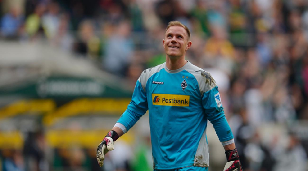 Monchengladbach goalkeeper Marc Andre ter Stegen, rumored to be headed to Barcelona this summer, is able to make the potential move now that the Spanish club's transfer ban has been suspended.