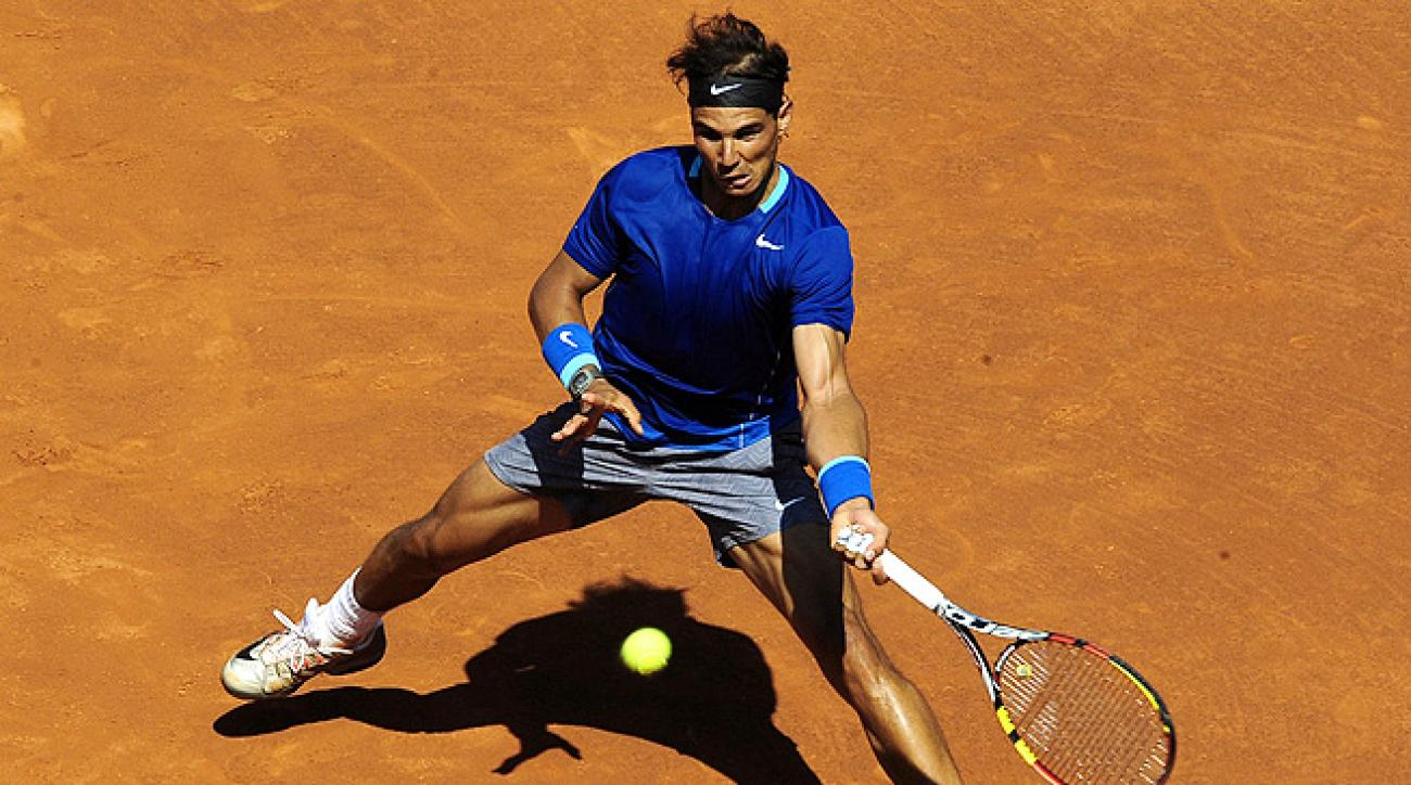 Rafael Nadal really had to work for his 7-6 (2), 6-4 victory over Albert Ramos in the second round.