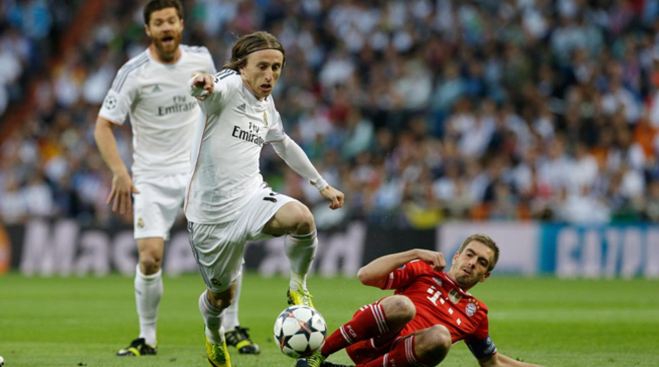 Real Madrid midfielder Luka Modric was a picture of poise and precision Wednesday in the club's 1-0 victory over Bayern Munich in the first leg of the Champions League semifinals.