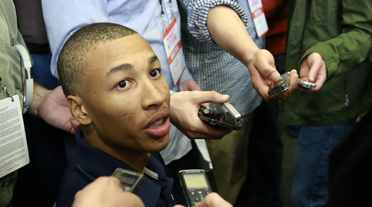 Dante Exum isn't well known to NBA fans yet, but he'll likely be a top-five pick in next month's draft.