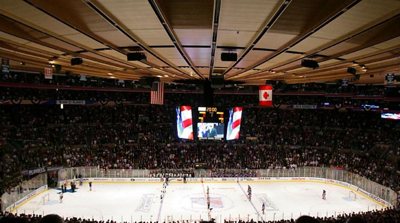 Arguably the world's most famous arena, The Garden, as it is commonly called, is in the heart of New York City. Home to New York Knicks' basketball and New York Rangers' hockey, The Garden is also a legendary cultural center and has been the site of  hundreds of concerts and events. The entertainment hub hosts more than 300 events each year.