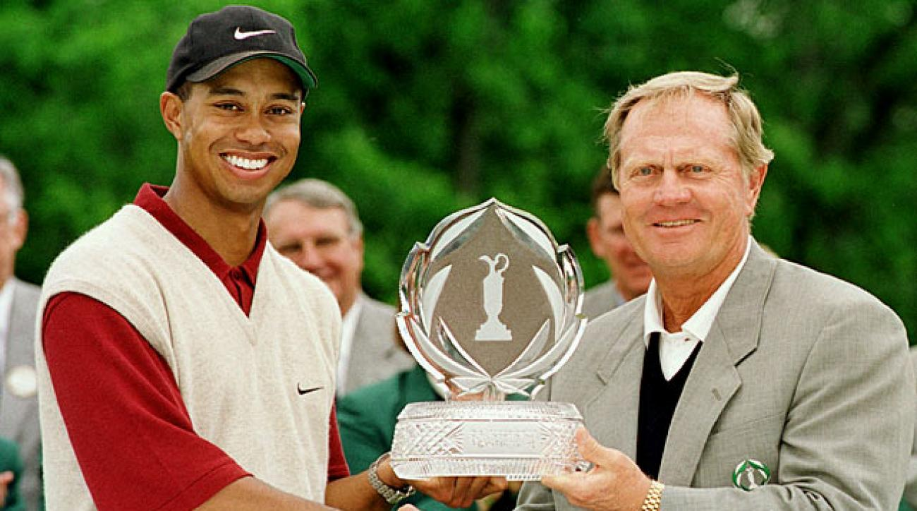 Tiger Woods became the first repeat champion of the Memorial Tournament by turning in a 2-under-par 70 for a five-stroke victory in the rain-delayed tournament. He joined Jack Nicklaus, Tom Watson, Hale Irwin and Greg Norman as the only players to win the event twice.