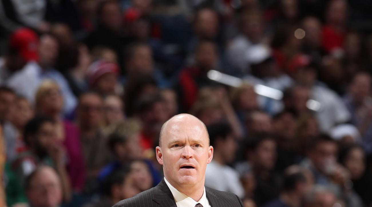 MILWAUKEE, WI - DECEMBER 22:  Head Coach Scott Skiles of the Milwaukee Bucks watches from the sideline during the NBA game against the Cleveland Cavaliers on December 22, 2012 at the BMO Harris Bradley Center in Milwaukee, Wisconsin. (Photo by Gary Dineen