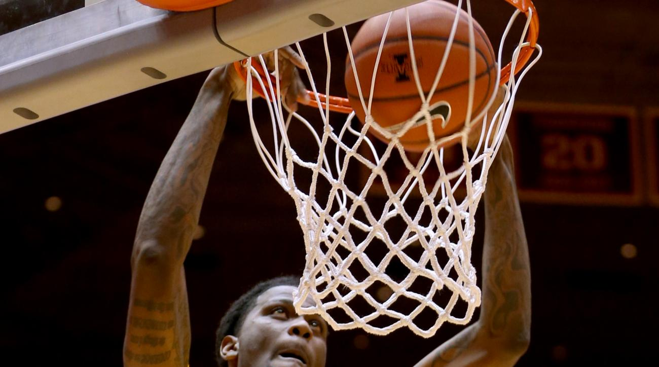 Iowa State forward Jameel McKay dunks during the first half of an NCAA college basketball game against Coppin State, Wednesday, Dec. 30, 2015, in Ames, Iowa. (AP Photo/Justin Hayworth)
