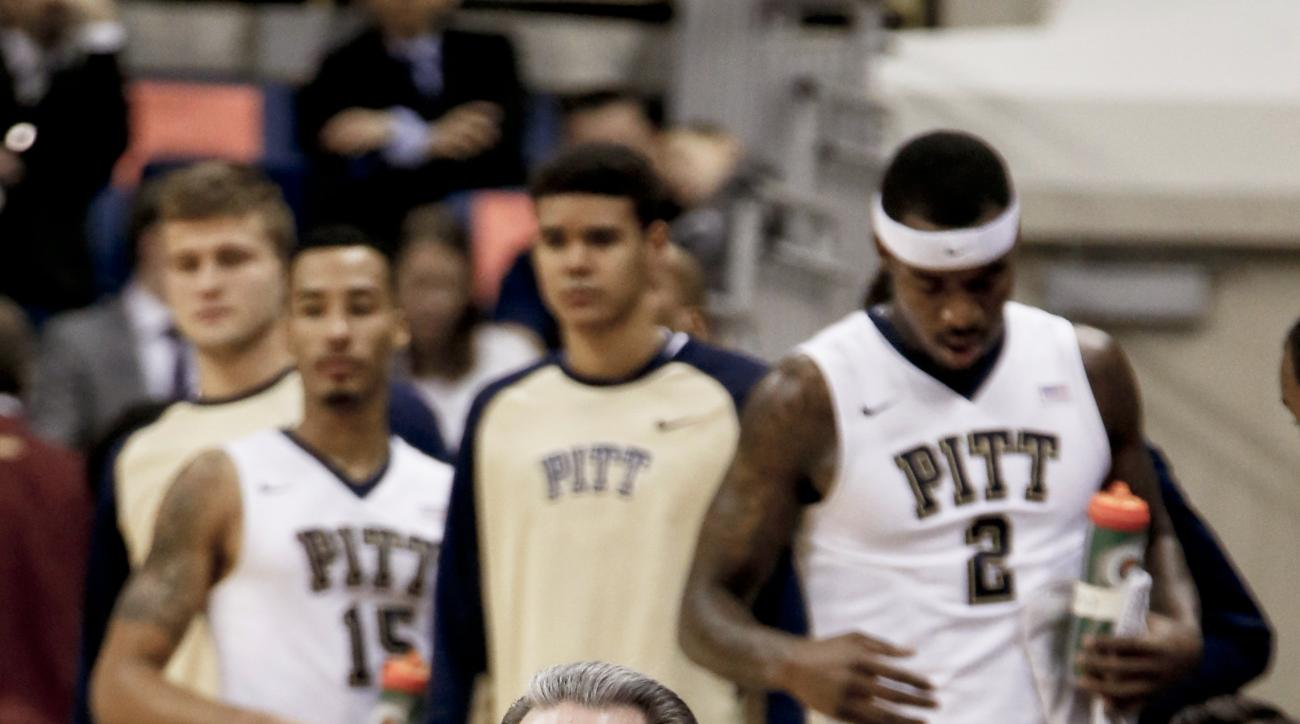 FILE - In this file photo from Jan. 2, 2016, Pittsburgh head coach Jamie Dixon watches as his team plays against Maryland-Eastern Shore in an NCAA college basketball game, in Pittsburgh. The Panthers (20-10, 9-9 ACC), enter the ACC Tournament on a two-gam