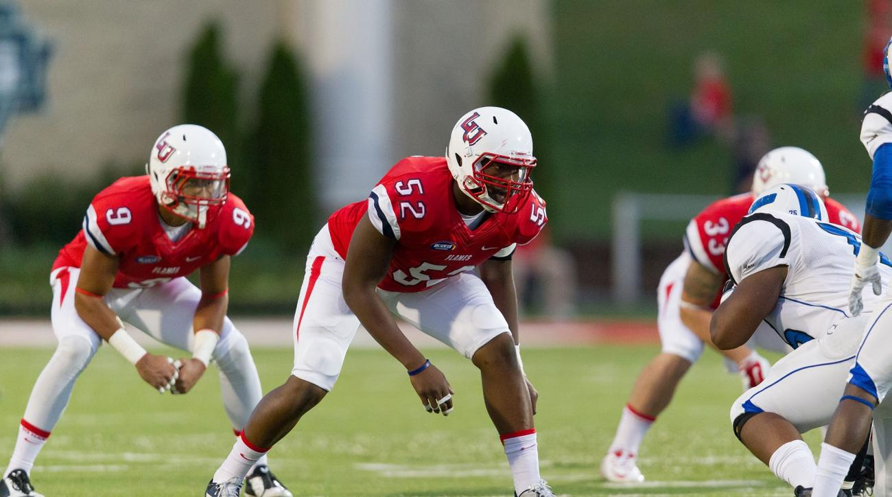 Liberty University vs Brevard in its first home game September 13, 2014. Photo by David Duncan