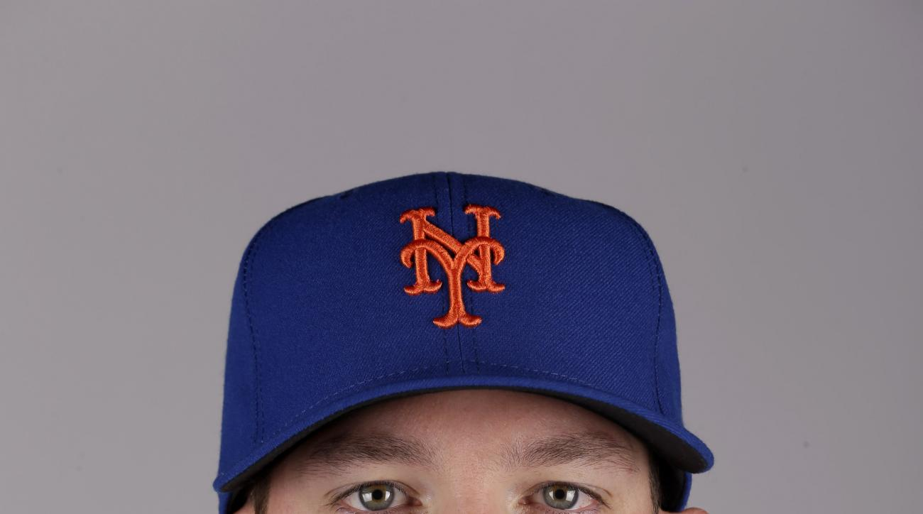 This is a 2015 photo of Bobby Parnell of the New York Mets baseball team. This image reflects the Mets active roster as of Saturday, Feb. 28, 2015, when this image was taken. (AP Photo/Jeff Roberson)