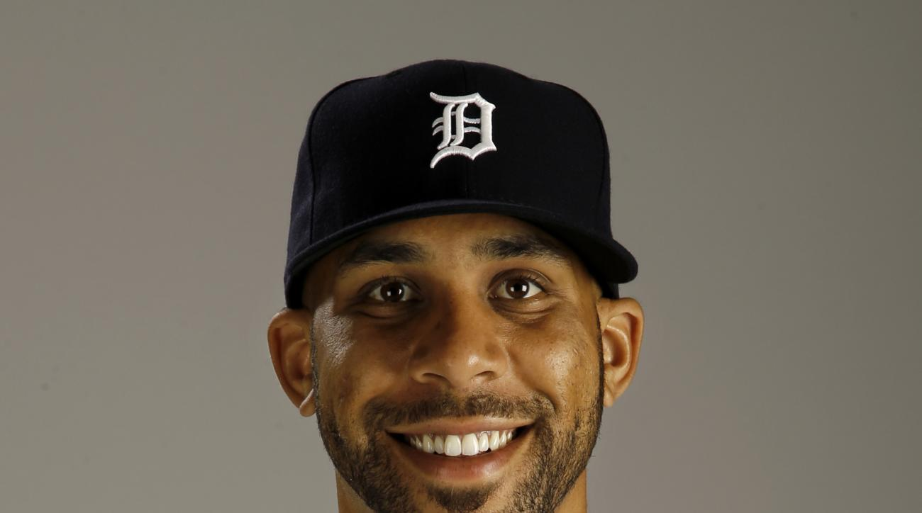 FILE - This is a 2015 file photo showing David Price of the Detroit Tigers baseball team. Toronto acquired All-Star left-hander David Price from the Detroit Tigers on Thursday, July 30, 2015, the second major move in less than a week by the Blue Jays as t