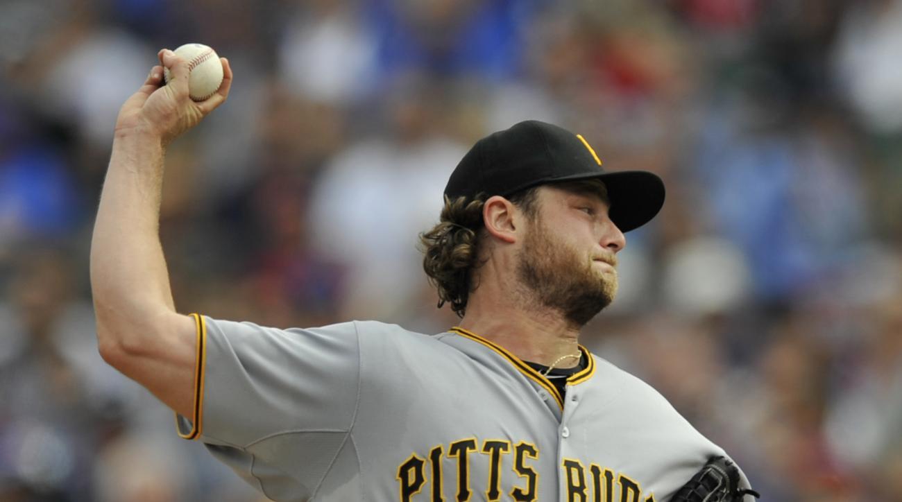 Pittsburgh Pirates starter Gerrit Cole
