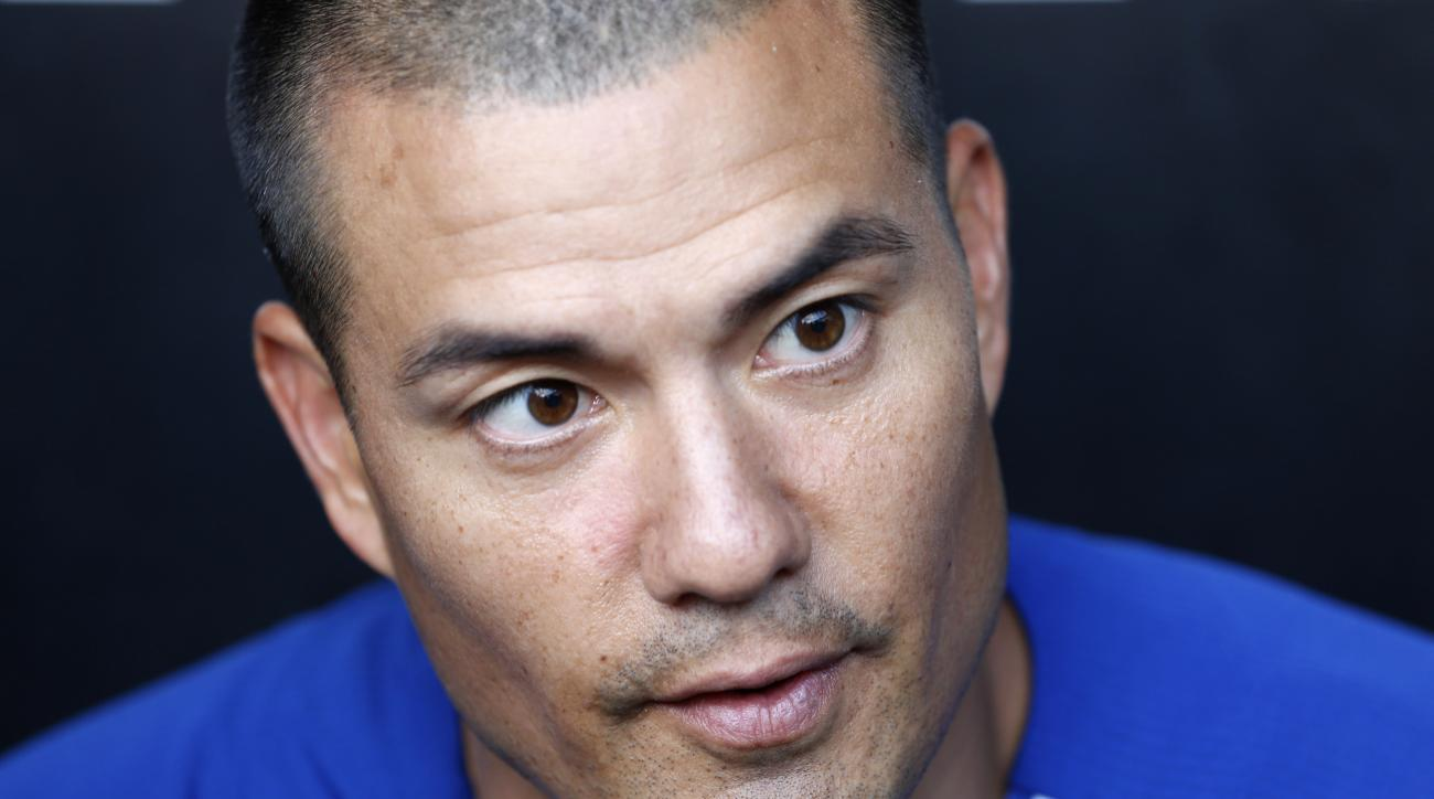 Kansas City Royals pitcher Jeremy Guthrie, talks about growing up in Roseburg, Ore., where a gunman opened fire on students at Umpqua Community College near Roseburg today, before a baseball game between the Chicago White Sox and the Royals Thursday, Oct.