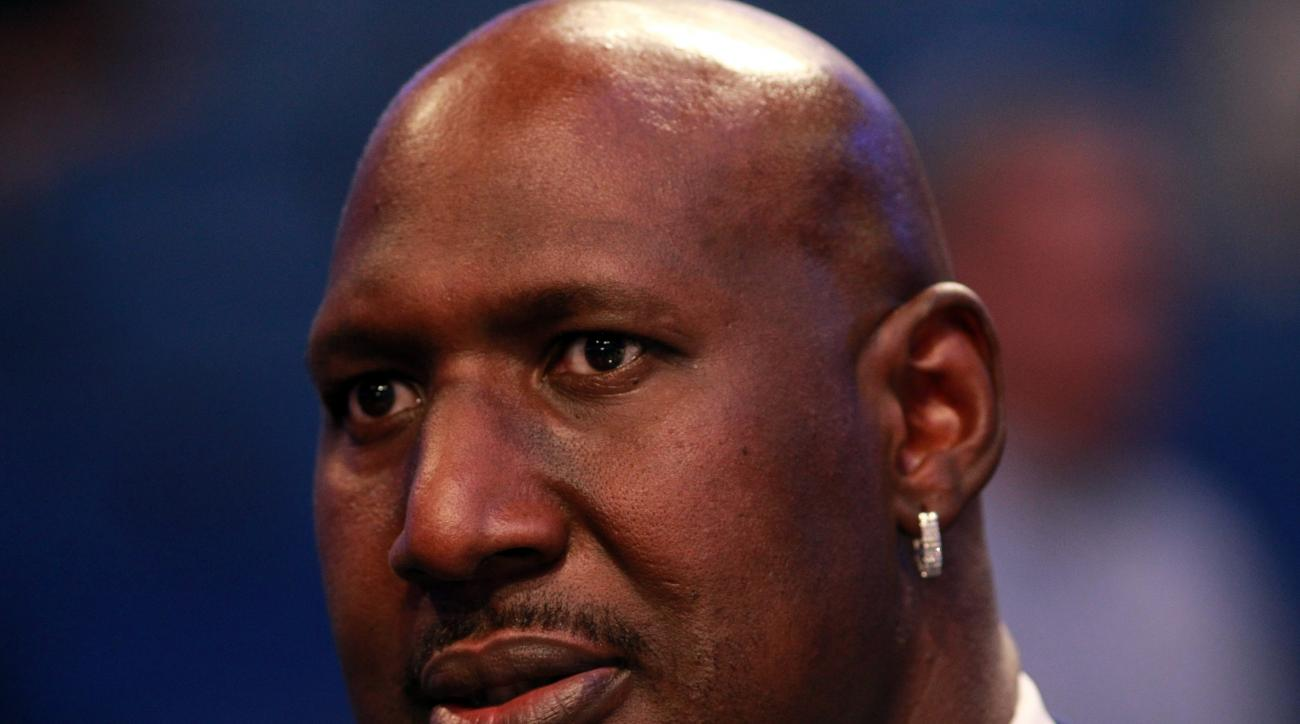 FILE - AUGUST 27: ORLANDO, FL - FEBRUARY 26:  NBA legend Darryl Dawkins looks on during the 2012 NBA All-Star Game at the Amway Center on February 26, 2012 in Orlando, Florida.  (Photo by Ronald Martinez/Getty Images)