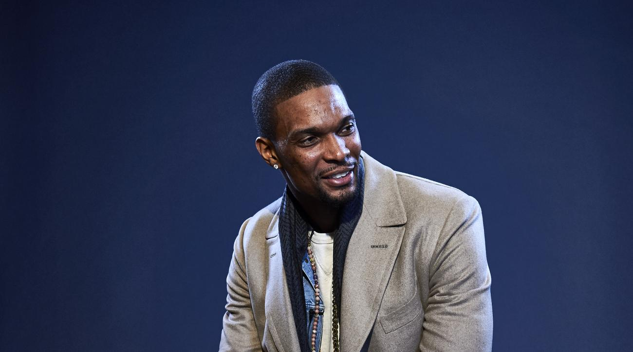TORONTO, ON - FEBRUARY 12:  Chris Bosh #1 of the Miami Heat poses for a portrait during NBA All-Star Weekend on February 12, 2016 at the Sheraton Centre in Toronto, Ontario Canada. (Photo by Jennifer Pottheiser/NBAE via Getty Images)