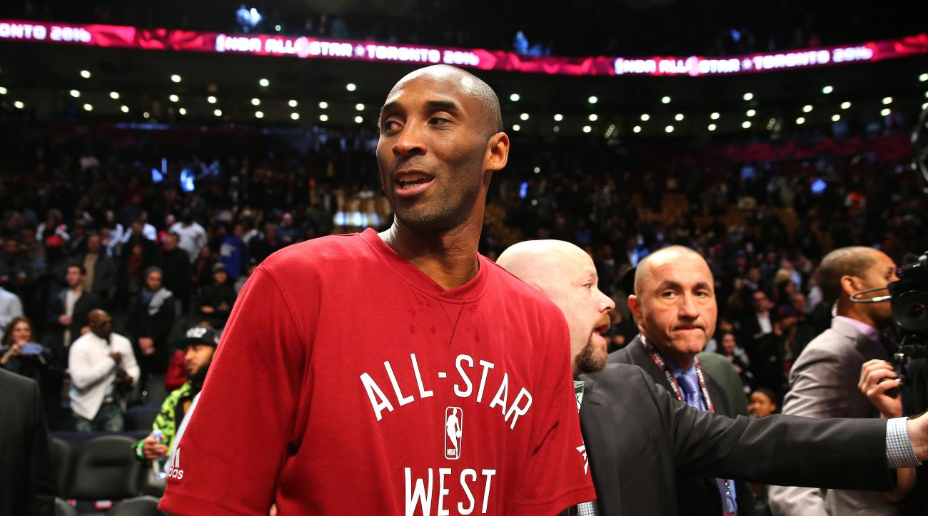 TORONTO, ON - FEBRUARY 14: Kobe Bryant #24 of the Los Angeles Lakers and the Western Conference walks off the court after defeating the Eastern Conference during the NBA All-Star Game 2016 at the Air Canada Centre on February 14, 2016 in Toronto, Ontario.