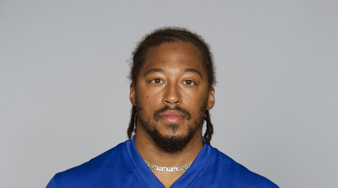 This is a 2014 photo of Will Beatty of the New York Giants NFL football team. This image reflects the New York Giants active roster as of Monday, June 23, 2014 when this image was taken. (AP Photo)