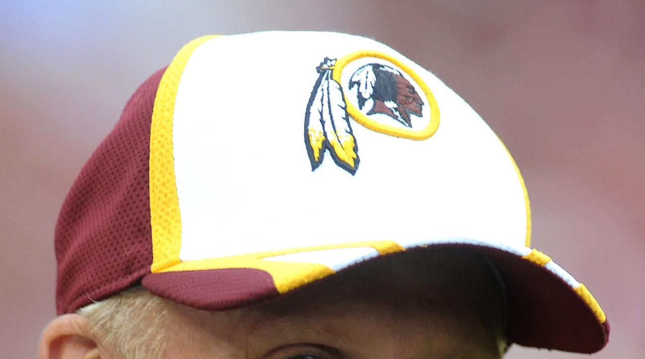 Washington Redskins defensive coordinator Jim Haslett prior to the start of their NFL preseason football game against the Cleveland Browns, Monday, Aug. 18, 2014, in Landover, Md. Washington defeated Cleveland 24-23. (AP Photo/Richard Lipski)